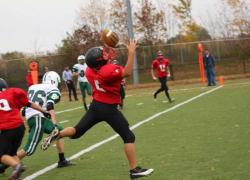 Freshmen Red Hawks hold off West Catholic