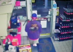 Admiral gas station robbed