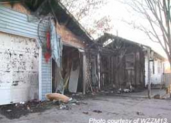 Christmas day fire leaves family homeless