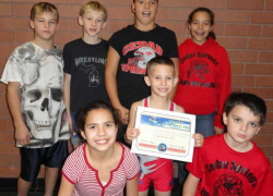 Youth wrestlers make national team