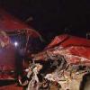 Driver crosses centerline causing crash