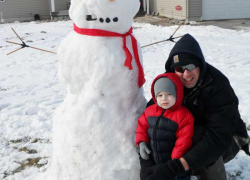 Snowman alert!