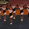 Cheer teams takes second in conference