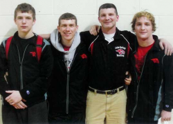 Varsity wrestlers place at regionals