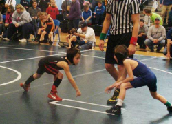 Youth wrestlers take medals