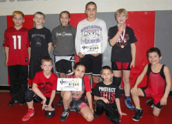 Cedar youth wrestlers rock