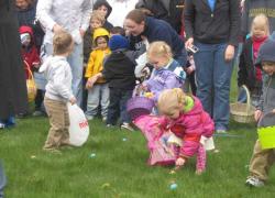 Post Easter egg hunt April 7!
