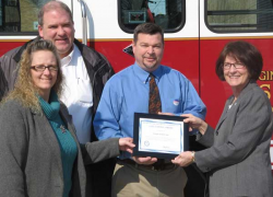 Sand Lake receives statewide achievement award