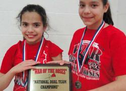 Girl wrestlers make national team