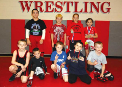 Youth wrestlers take top spots