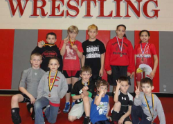 Youth wrestlers win medals