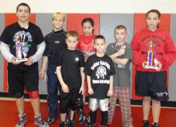 Wrestlers bring home trophies