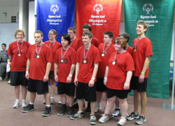 High School Special Olympics basketball team wins gold!
