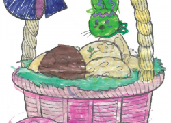 Easter Coloring Contest Winners