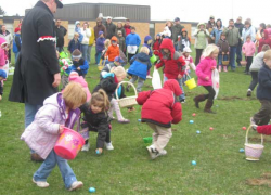 Post Easter egg hunt is SATURDAY!
