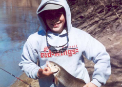 Michigan suckers are popular with spring anglers