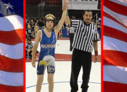 Wrestler wins national title