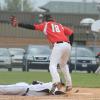 Red Hawk baseball gets first win
