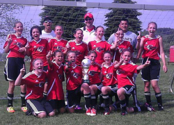 CASSA U12 team wins division