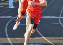 Boys Track Squeaks by Forest Hills Northern