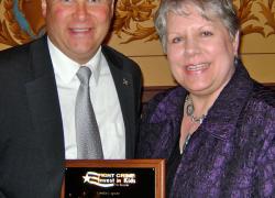 MacGregor gets Crime Fighter award