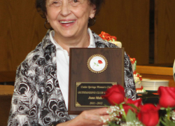 June Mabie is Women's Club Woman of the year