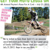 4th annual Payton's Race for a Cure motocross event
