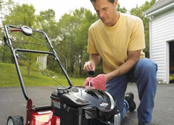 Keep your lawn mower running right