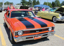 Museum car show