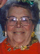 Marie Bush Memorial