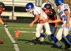 JV Red Hawks trounce Spartans