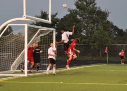 Red Hawk soccer team repels Red Arrows
