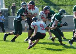 Freshmen football continues winning ways