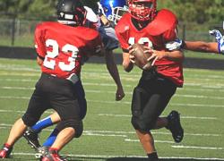Freshmen Red Hawks win against Sparta