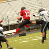 Frosh football closes out season with loss