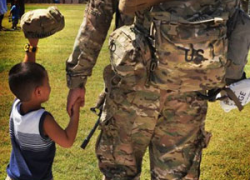 Five easy ways to support the troops during the holidays