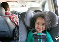 Traveling with kids—be car seat smart