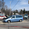 Two people injured in crash
