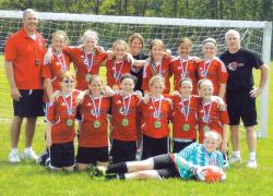 U12 CASSA girls take first place
