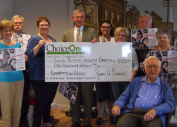 ChoiceOne Bank Continues Financial Support of Sparta Township Historical Commission's Museum Operation