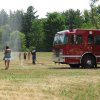 Firefighter day at Solon Market