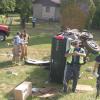Road rage suspected in rollover crash