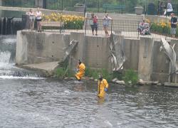 Drowned diver at dam a false alarm