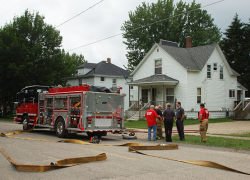 Fire extinguished at home on Second St