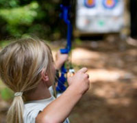 Learn archery skills with the DNR