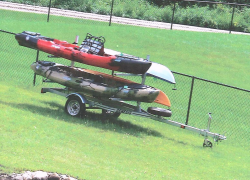 Police search for stolen kayaks