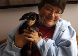 Dog saves woman's life