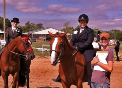 Equestrian team places in several events