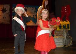 New Prince and Princess crowned