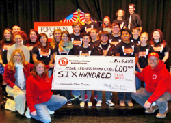 High School drama club receives community share funds
